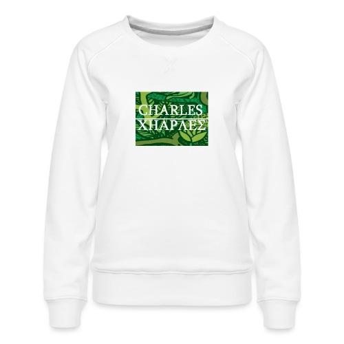 CHARLES CHARLES JUNGLE PRINT - LIMITED EDITION - Women's Premium Sweatshirt