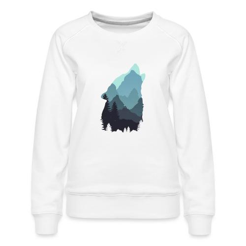 Wolf - Women's Premium Sweatshirt