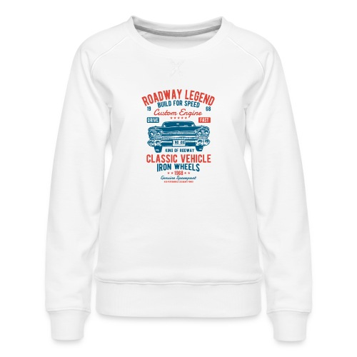 Roadway Legend - Vrouwen premium sweater