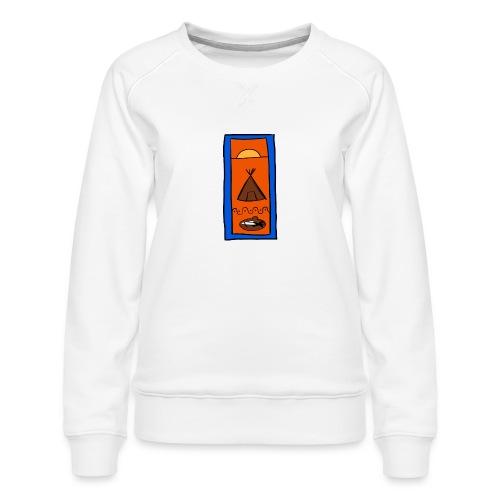 Samisk motiv - Premium-genser for kvinner