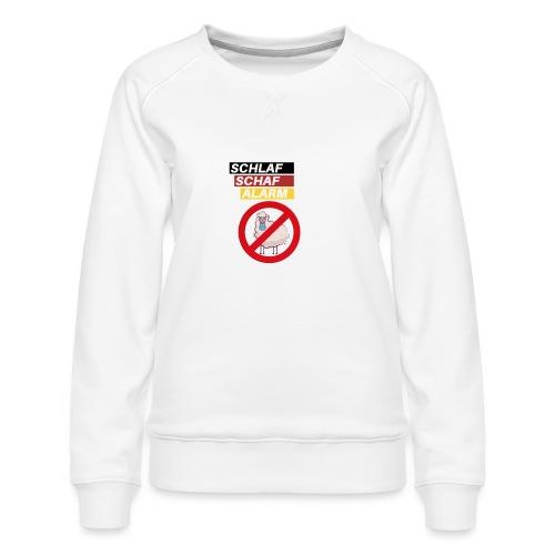 Schlaf-Schaf-Alarm - Frauen Premium Pullover