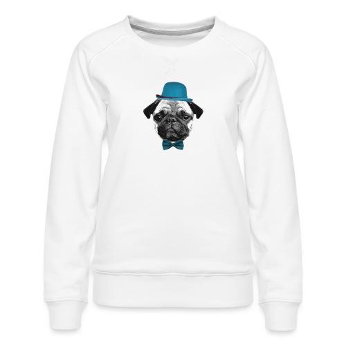 Mops Puppy - Frauen Premium Pullover