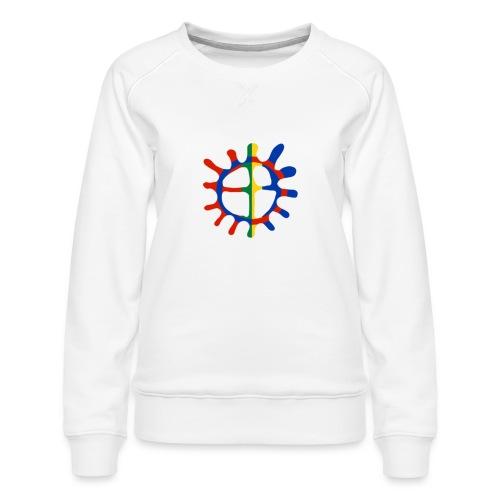 Samisk sol - Premium-genser for kvinner
