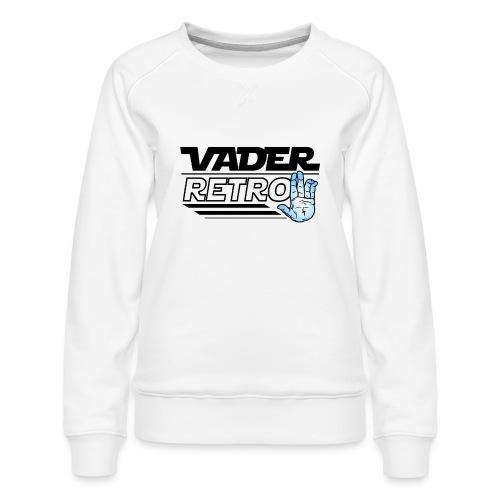 Vader Retro! - Felpa premium da donna