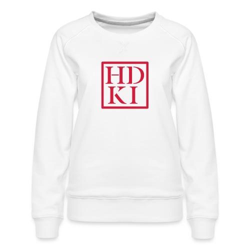 HDKI logo - Women's Premium Sweatshirt
