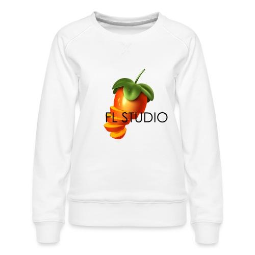 Sliced Sweaty Fruit - Women's Premium Sweatshirt
