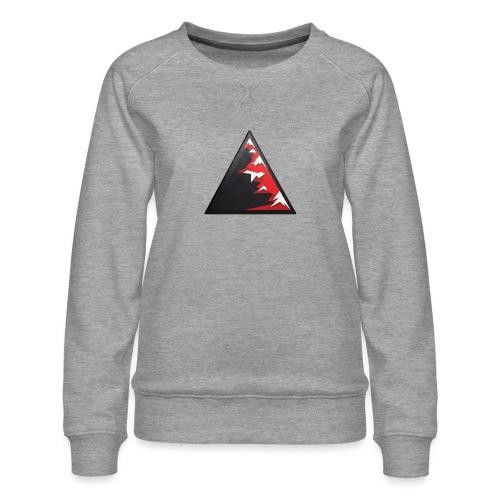 Climb high as a mountains to achieve high - Women's Premium Sweatshirt