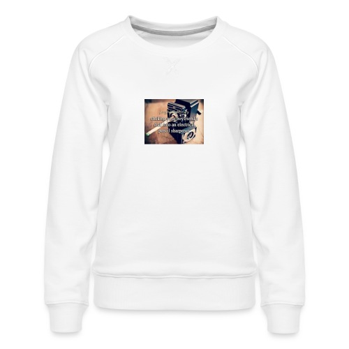 45492e8dfe105cfa0a4a7d1596676fb3 justgirlythings - Dame premium sweatshirt