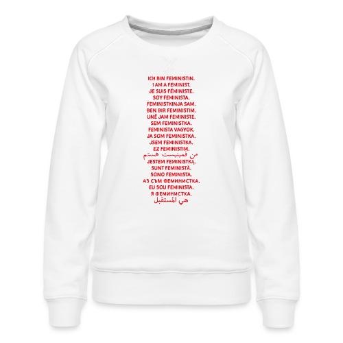 Ich bin Feministin - Frauen Premium Pullover