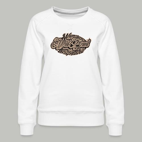 WildBeard Brand SePia - Frauen Premium Pullover