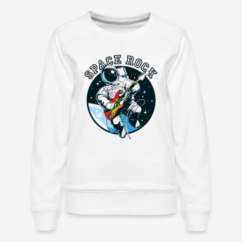 Weltraum-Astronautengestein - Frauen Premium Pullover