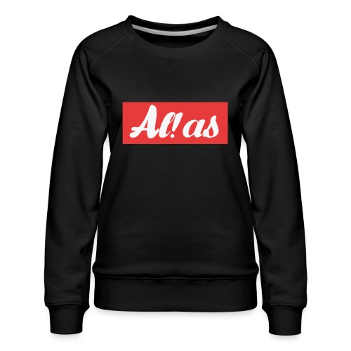 Al!as - Dame premium sweatshirt