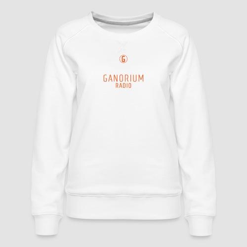 GANORIUM Orange - Women's Premium Sweatshirt