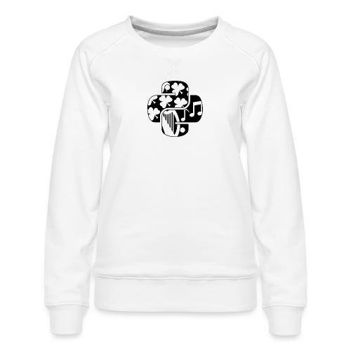 EuroPython 2020 - Black Snakes - Women's Premium Sweatshirt