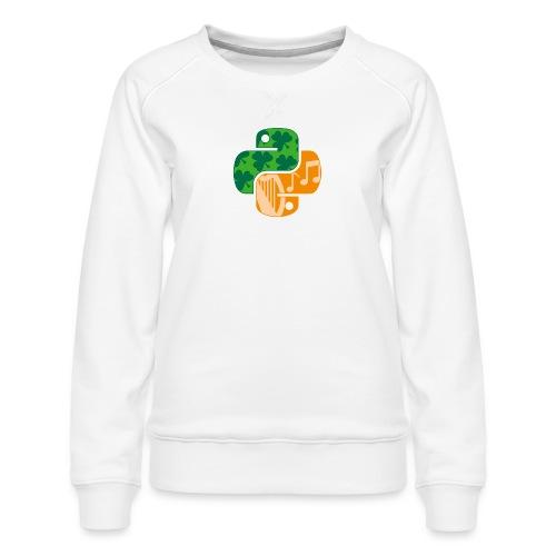 EuroPython 2020 - Color Snakes - Women's Premium Sweatshirt