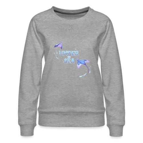 Under the Sea Mantas - Women's Premium Sweatshirt