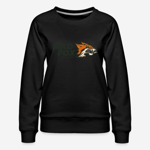 mad crazy fox - Frauen Premium Pullover