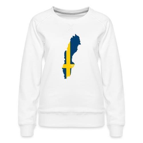 Sweden - Vrouwen premium sweater