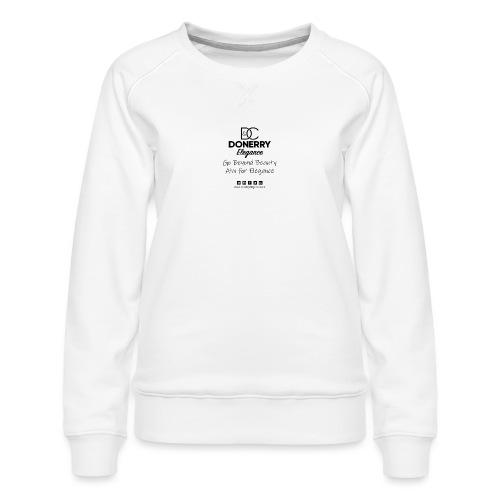 Go Beyond Elegance Image T Shirt design - Women's Premium Sweatshirt