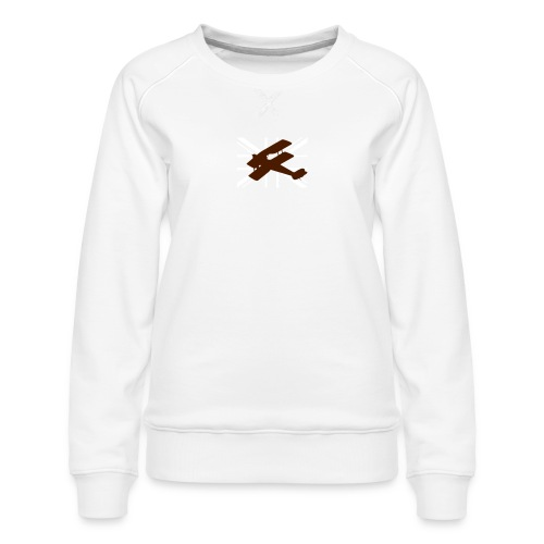 ukflagsmlWhite - Women's Premium Sweatshirt