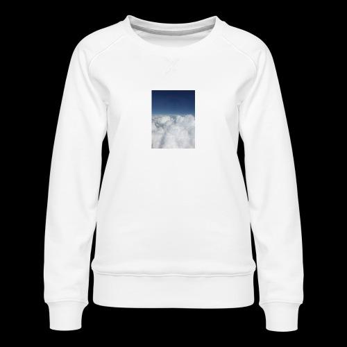 clouds - Vrouwen premium sweater