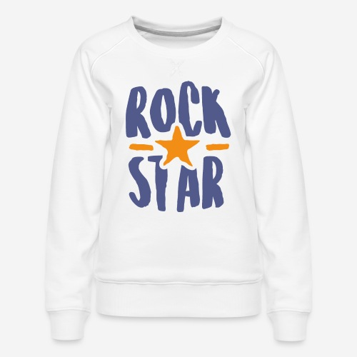 rock star - Frauen Premium Pullover