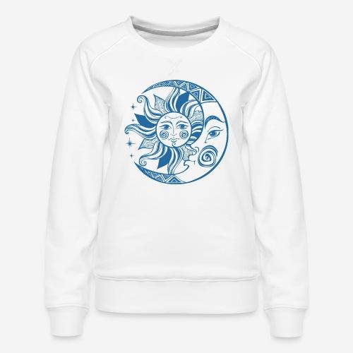 Sonnenmond Astrologie - Frauen Premium Pullover