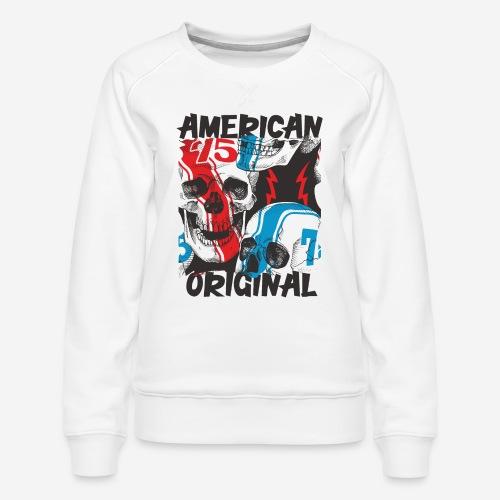 usa american original - Frauen Premium Pullover