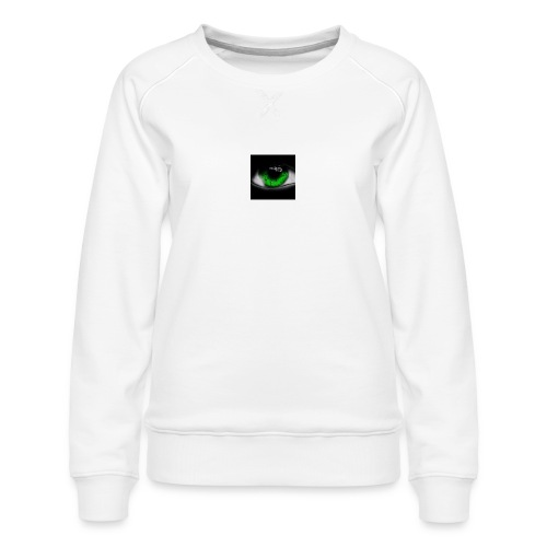 Green eye - Women's Premium Sweatshirt