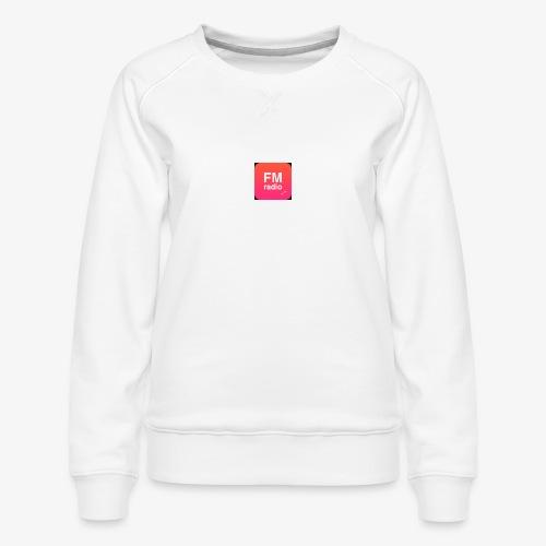 logo radiofm93 - Vrouwen premium sweater