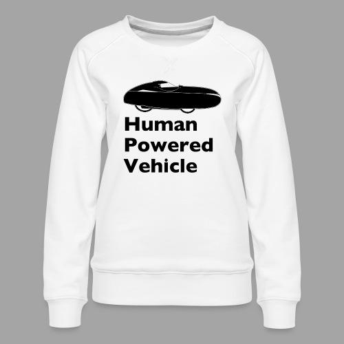 Quest Human Powered Vehicle 2 black - Naisten premium-collegepaita