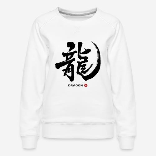 Japan Drache Japanesse Brief - Frauen Premium Pullover