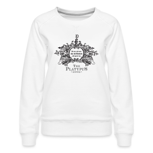 Platypus - Vrouwen premium sweater