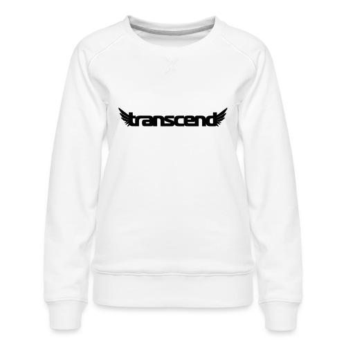 Transcend T-Shirt - Men's - Neon Yellow Print - Women's Premium Sweatshirt