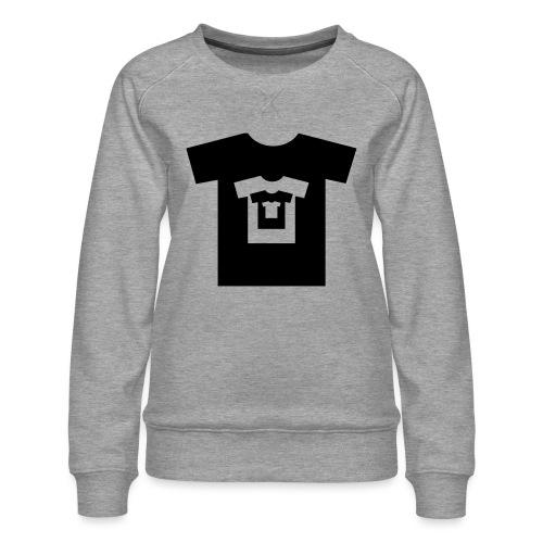 t-shirt récursif - Sweat ras-du-cou Premium Femme