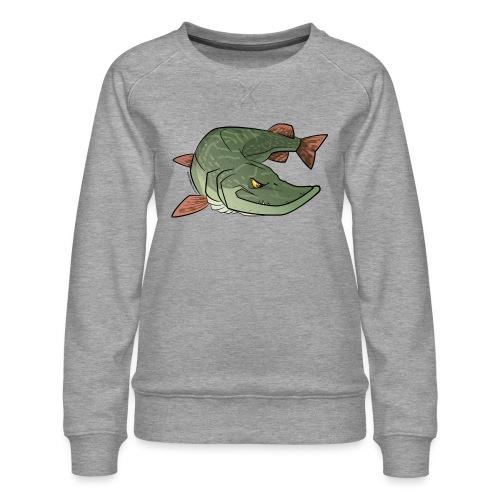 Red River: Pike - Women's Premium Sweatshirt