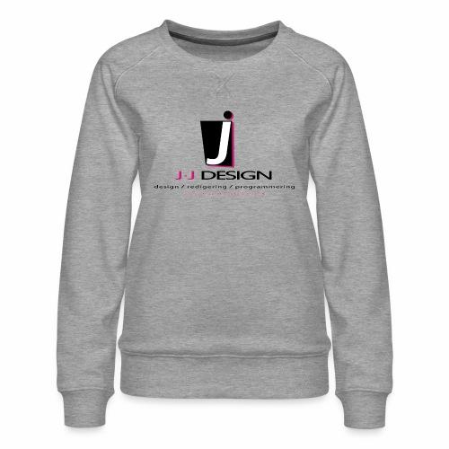 LOGO_J-J_DESIGN_FULL_for_ - Dame premium sweatshirt