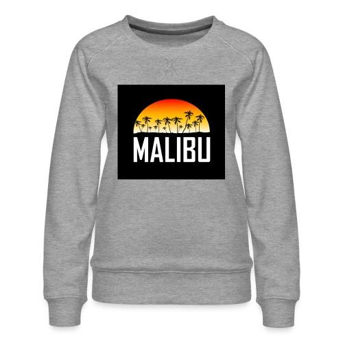 Malibu Nights - Women's Premium Sweatshirt