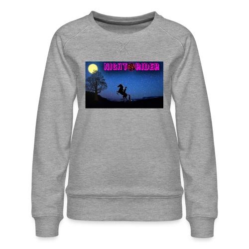 nightrider merch - Dame premium sweatshirt
