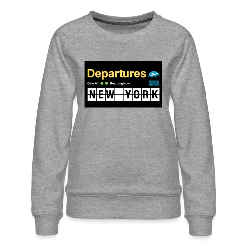 Departures Defnobarre 1 png - Felpa premium da donna
