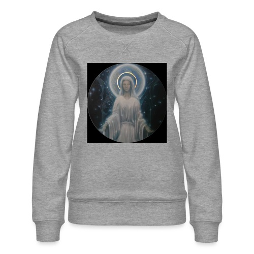 圣母玛利亚 Notre Dame by Jean Libon (Noir) - Sweat ras-du-cou Premium Femme