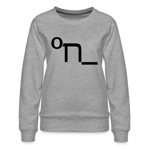 DRUNK - Women's Premium Sweatshirt