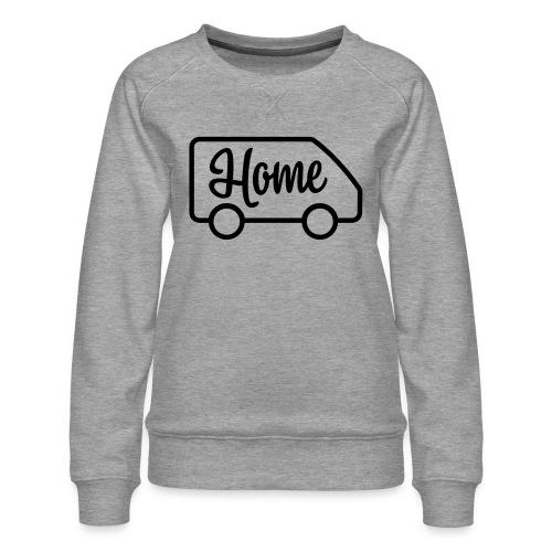 camperhome03a - Premium-genser for kvinner
