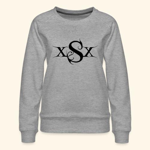 SynapsEyes Logo mittel - Frauen Premium Pullover