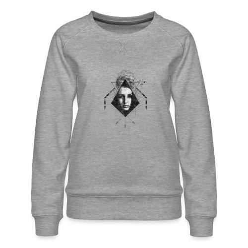 MOON GIRL - Vrouwen premium sweater