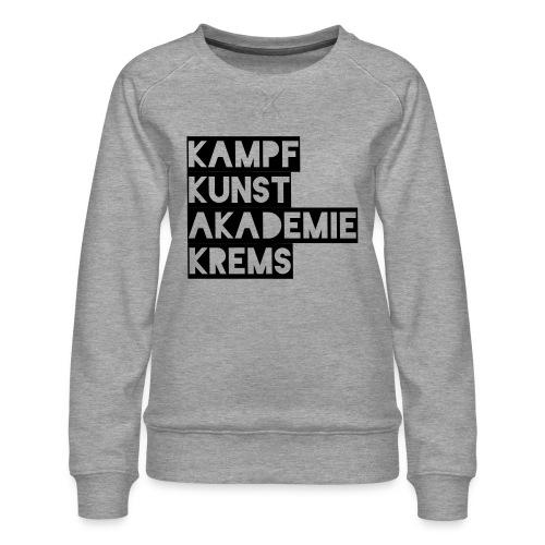 KKA 2016 lifestyle back2 - Frauen Premium Pullover