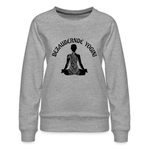 Bezaubernde Yogini - Frauen Premium Pullover