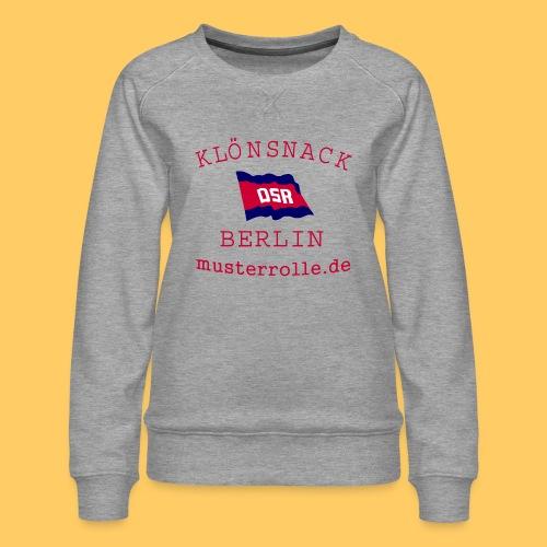 KiB-Logo-gif - Frauen Premium Pullover