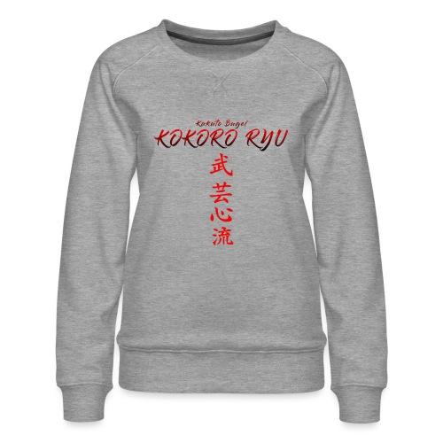 KOKORO RYU - Sweat ras-du-cou Premium Femme