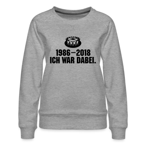 1986-2018 - Frauen Premium Pullover